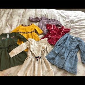 4T dress and top lot